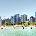 Chicago North Avenue Beach by Patrick  Warneka