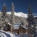 Colorado Mountain House Print by Michael J Bauer