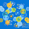 Colorful Circles by Frank Tschakert