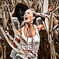 Corn Field Horror by Jt PhotoDesign