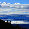 Courthouse Valley Sea Of Clouds by Michael Weeks