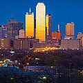 Dallas Skyline by Inge Johnsson