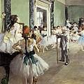 Degas, Edgar 1834-1917. The Dancing by Everett