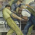 Detroit Industry  North Wall by Diego Rivera