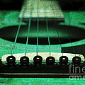 Edgy Abstract Eclectic Guitar 15 by Andee Design