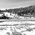 Evergreen Lake House Winter by Ron White