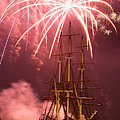 Fireworks Exploding Over Salem's Friendship by Jeff Folger