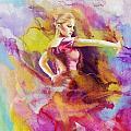 Flamenco Dancer by Catf