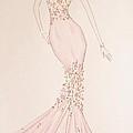 Floral Fantasy Gown  by Christine Corretti