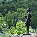 General Warren At Little Round Top by John Greim