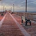 Gulf State Pier by Michael Thomas