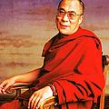 H.h. Dalai Lama by Jan Faul