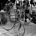 High Wheel 'penny-farthing' Bike by Christine Till