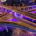 Highway Intersection In Shanghai by Lars Ruecker