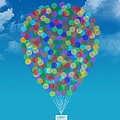 Hot Air Balloon by Aged Pixel