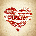 I Love Usa by Aged Pixel
