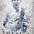 Jack Johnson Portrait Print by Aged Pixel
