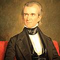 James K. Polk Print by Cora Wandel
