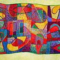 Jigsaw Tapestry by Diane Fine
