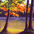 Lake Trees by MaryAnn Stafford