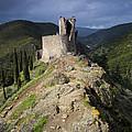 Lastours Castle by Ruben Vicente
