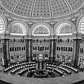 Library Of Congress Main Reading Room by Susan Candelario