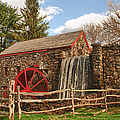 Longfellow's Wayside Inn Grist Mill by Jeff Folger