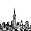 Manhattan Skyline Print by John Farnan