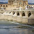 Mezquita And Roman Bridge In Cordoba by Artur Bogacki