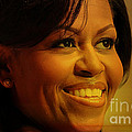 Michelle Obama by Marvin Blaine