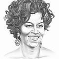 Michelle Obama by Murphy Elliott