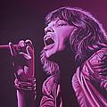 Mick Jagger by Paul Meijering