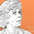 momma on Orange by Jason Tricktop Matthews