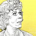 Momma On Yellow by Jason Tricktop Matthews