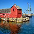 Motif Number One Rockport Lobster Shack Maritime by Jon Holiday