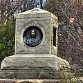 New York At Gettysburg - 140th Ny Volunteer Infantry Little Round Top Colonel Patrick O' Rorke by Michael Mazaika