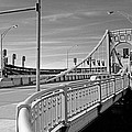 Pittsburgh - Roberto Clemente Bridge by Frank Romeo