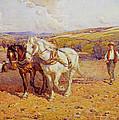 Ploughing by Joseph Harold Swanwick