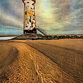 Point Of Ayre Lighthouse by Adrian Evans