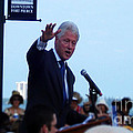 President Clinton In Fort Pierce by Megan Dirsa-DuBois