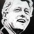 President William Clinton by Robert Lance