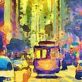 San Francisco Trams 12 by Yury Malkov