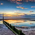 Seascape Wales Print by Adrian Evans