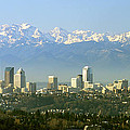 Seattle Skyline by King Wu