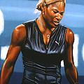 Serena Williams by Paul Meijering