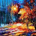 Shadows On Snow by Leonid Afremov