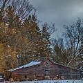 Small Barn by Paul Freidlund