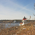 Squirrel Point Lighthouse Kennebec River Maine by Keith Webber Jr