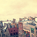 Streets of Old Quebec City Print by Edward Fielding