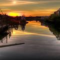 Sunrise On The Petaluma River by Bill Gallagher